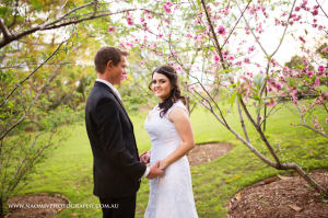 Roma Street Parklands Wedding. Image kindly provided by Naomi V Photography