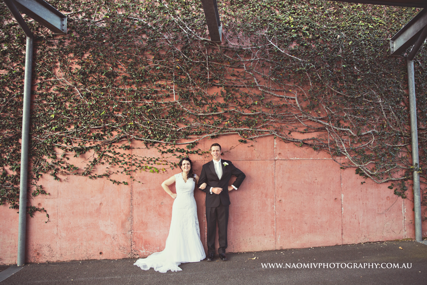 Aimi and Greg loved having an unplugged wedding at Roma Street Parklands